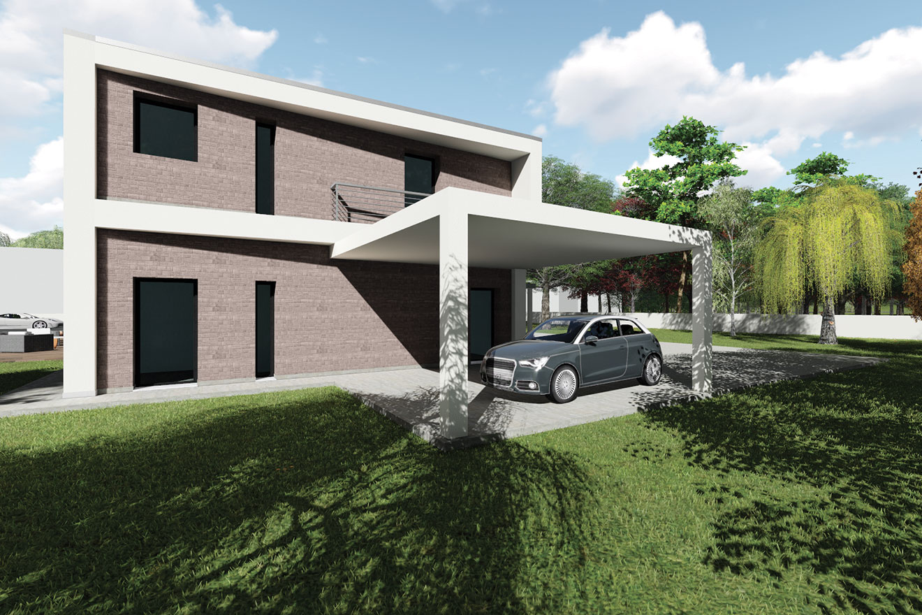 Your home ns02 for Portico moderno