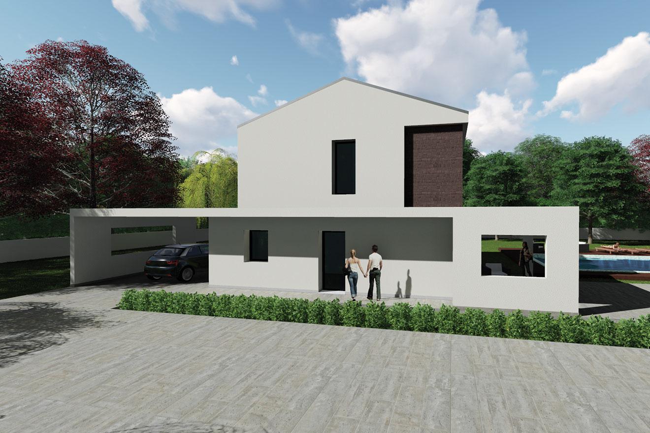 Your home sl02 for Portico moderno